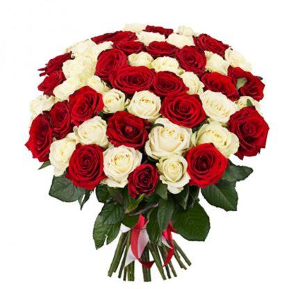 33 розы микс